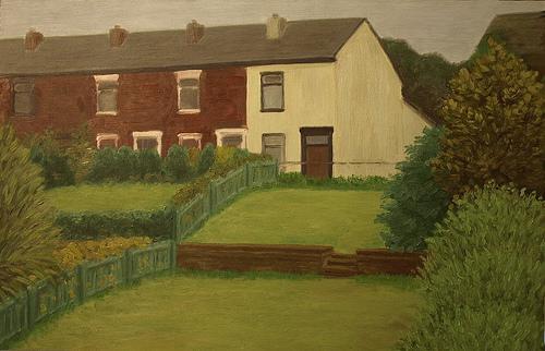 Terraced houses, Lostock, Bolton