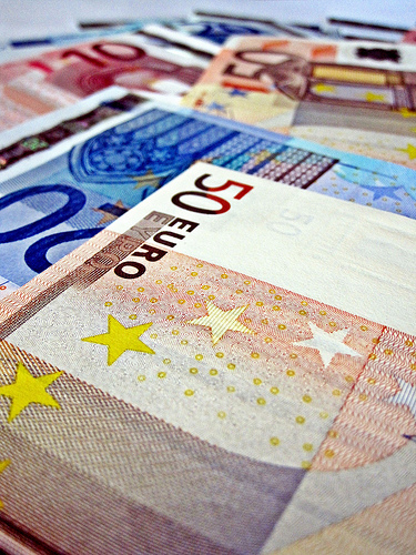 Free Image of Euro Notes