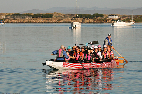 2 of 2 SurviveOars Morro Bay Breast Cancer Survivors group -2