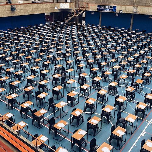 And so exam season begins. #t