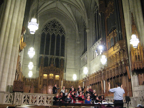 Chamber Choir in Duke Chapel